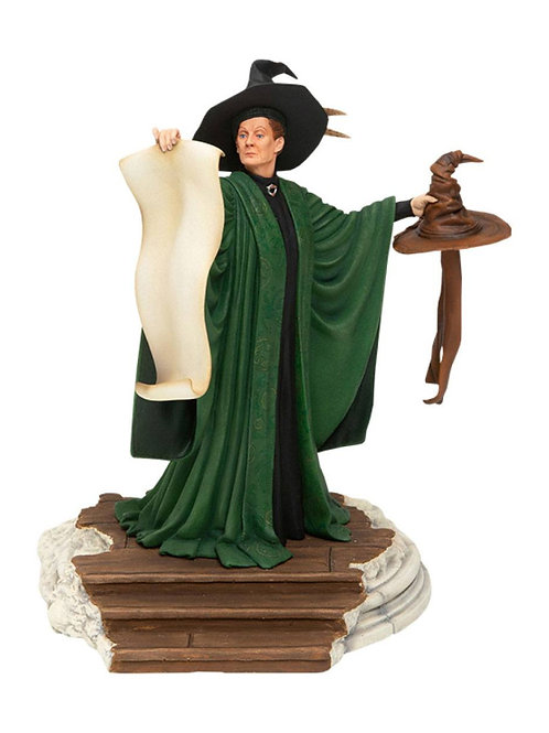 HARRY POTTER PROFESSOR MCGONAGALL WITH SORTING HAT (ESTÁTUA)