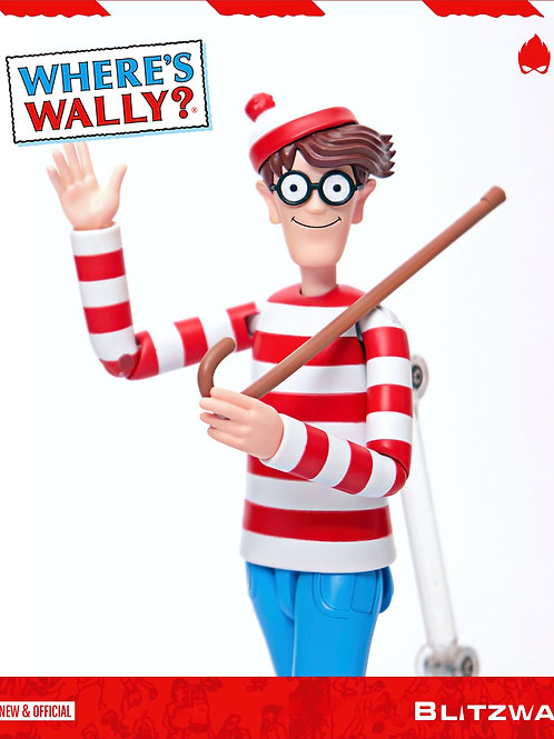 WHERE'S WALLY? MEGA HERO WALLY (ACTION FIGURE)