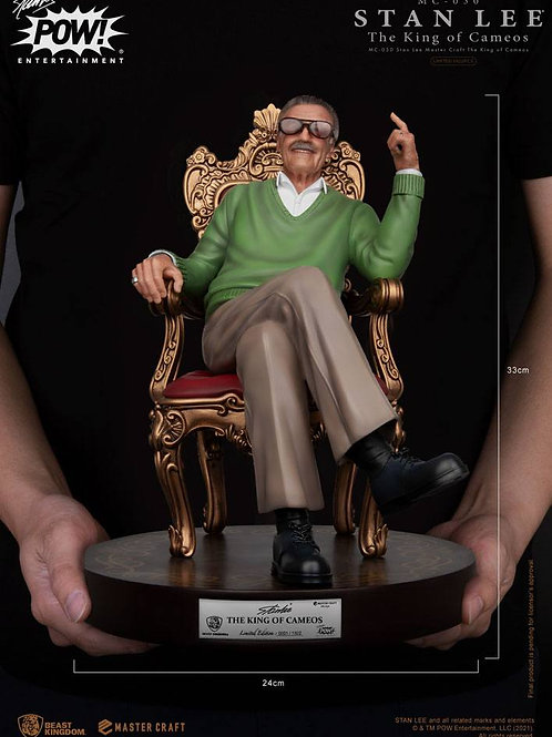 STAN LEE MASTER CRAFT THE KING OF CAMEOS (ESTÁTUA)