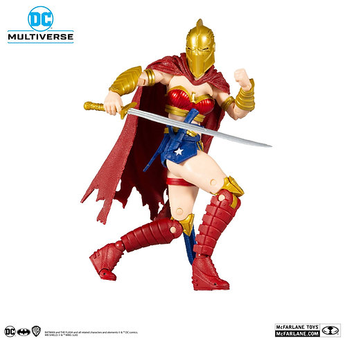 DC MULTIVERSE LKOE WONDER WOMAN WITH HELMET OF FATE (ACTION FIGURE)