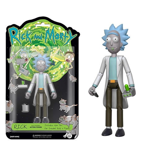 RICK & MORTY RICK (ACTION FIGURE)