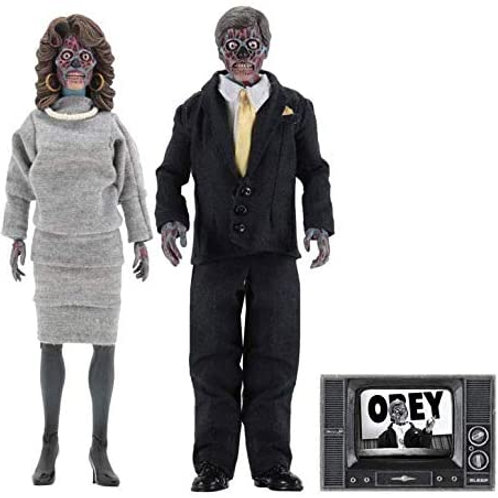THEY LIVE RETRO 2 PACK ALIENS (ACTION FIGURE)
