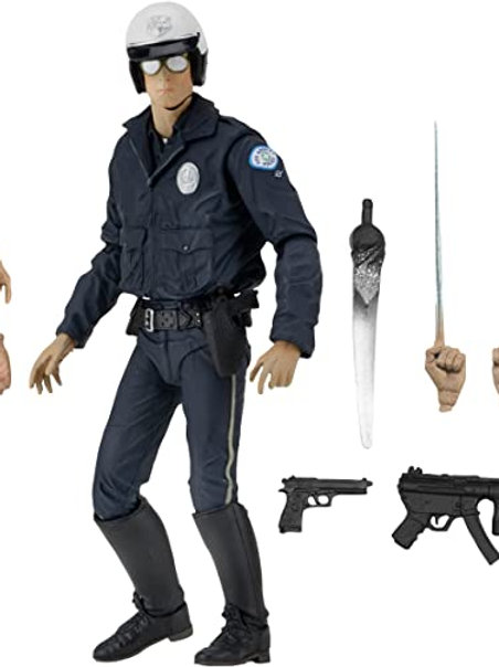 TERMINATOR 2 ULTIMATE T-1000 MOTORCYCLE COP (ACTION FIGURE)