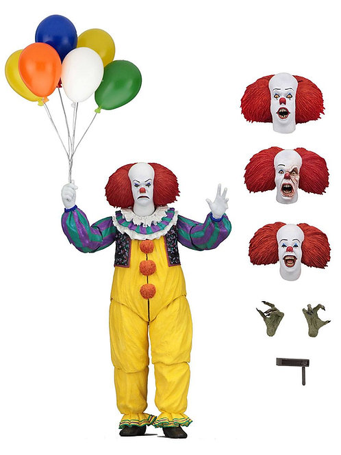 STEPHEN KING'S IT 1990 ULTIMATE PENNYWISE (ACTION FIGURE)