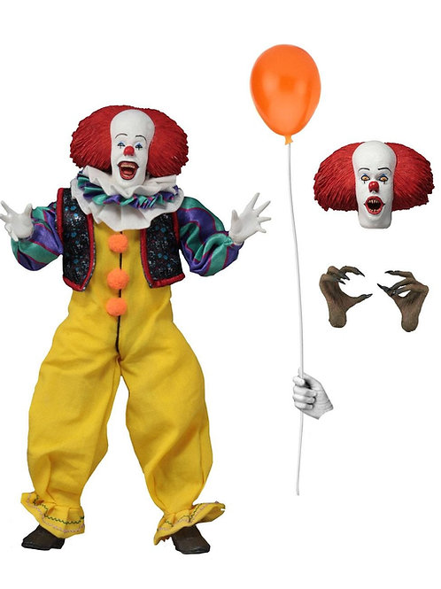 STEPHEN KING'S IT 1990 RETRO PENNYWISE (ACTION FIGURE)