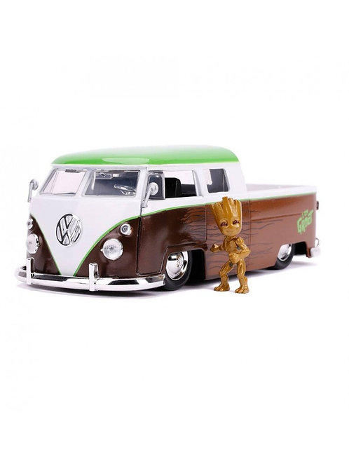 GUARDIANS OF THE GALAXY HOLLYWOOD RIDES 1962 VOLKSWAGEN BUS WITH FIGURE