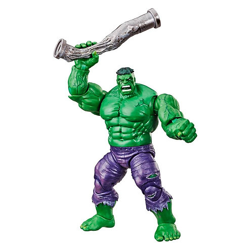 MARVEL LEGENDS 80th ANNIVERSARY RETRO HULK SDCC 2019 EXCLUSIVE (ACTION FIGURE)
