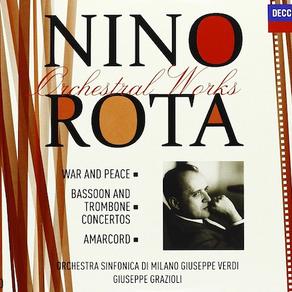 Nino Rota Orchestral Works vol. 2 - LaVerdi - Grazioli