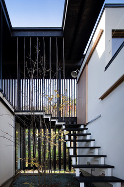 Outside staircase