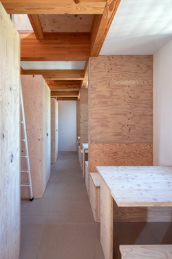 Mountain View Living Space with structural plywood