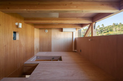 Mountain View Living Space with lavan plywood (Bedroom attic)