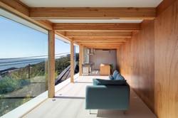 Ocean View Living Space with hidden door (right side)