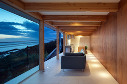 Ocean View Living Space (with right side hidden door)