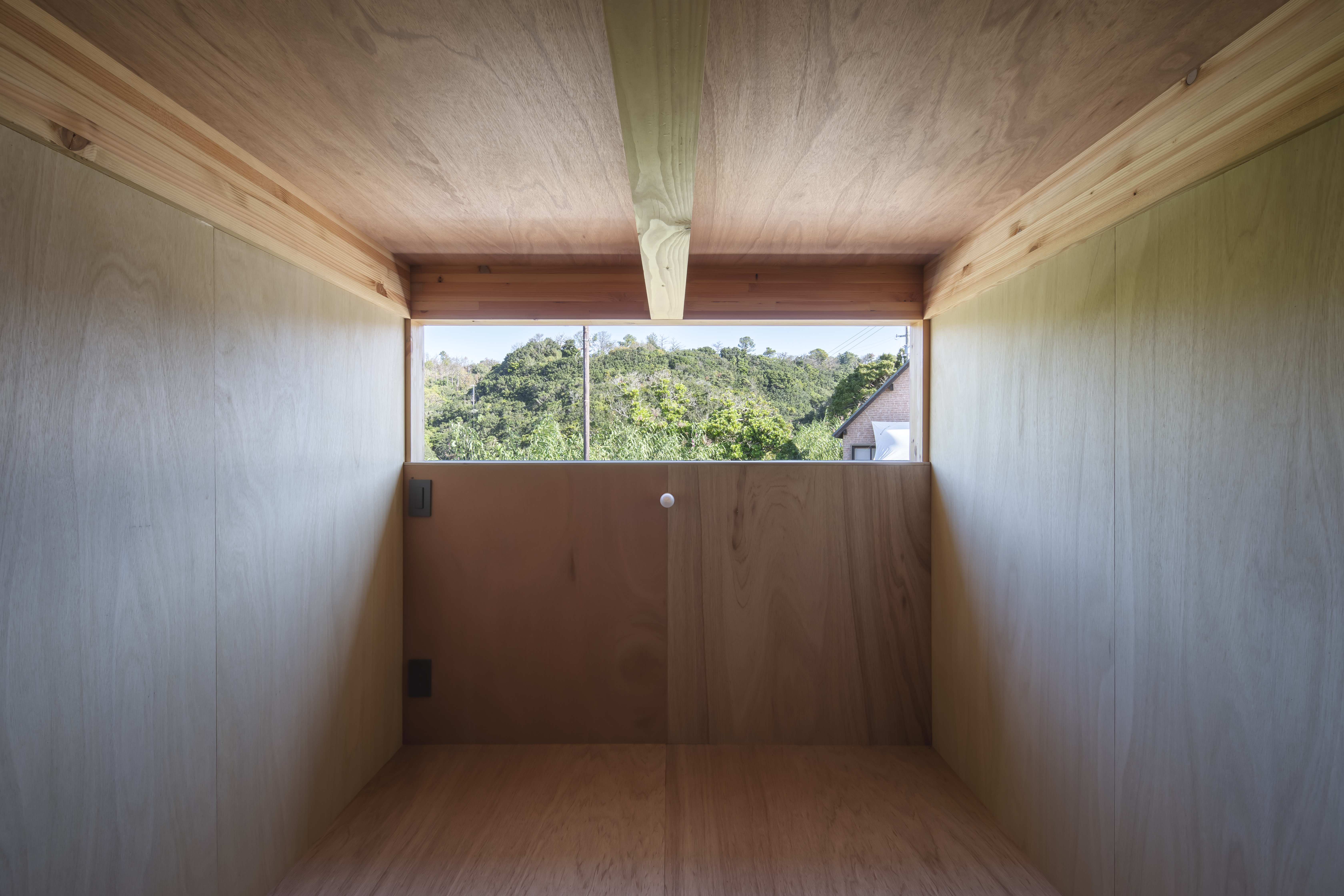 Mountain View Living Space with lavan plywood (nest)