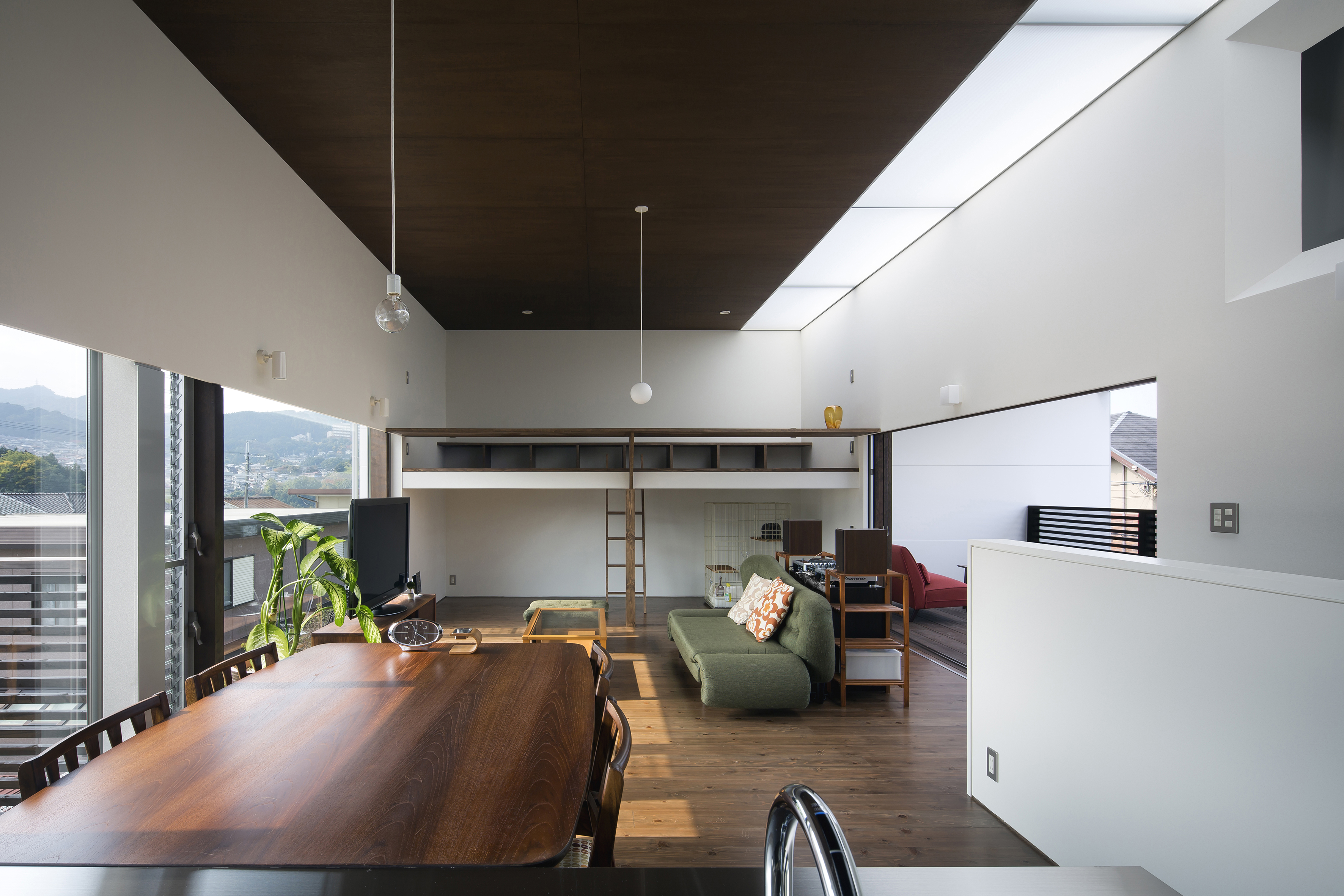 Living,dining,kitchen