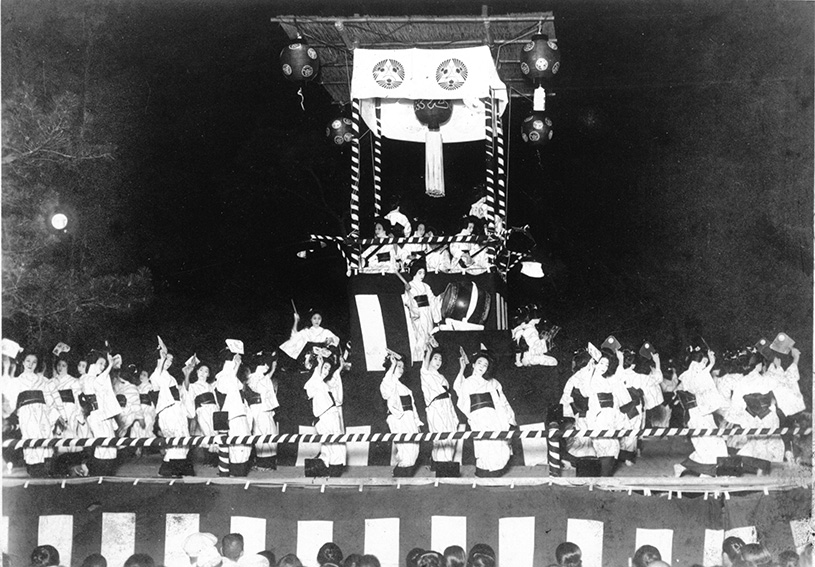 1932_Bon Festival Dance in mid-August