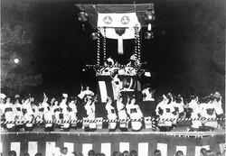 1932_Bon Festival Dance in mid-August
