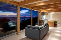 Ocean View Living Space (evening)