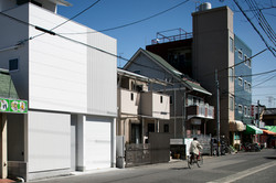 Row of houses on a street