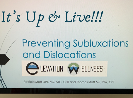 Video Presentation: Preventing Subluxations & Dislocations w/hEDS