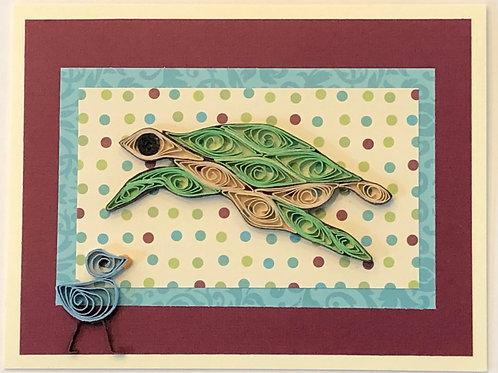 Blue Bird Series – Turtle
