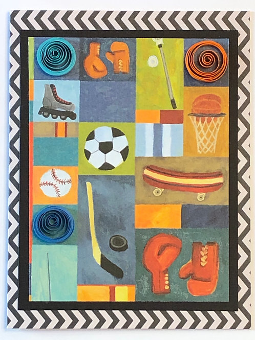 Sports Fan Card