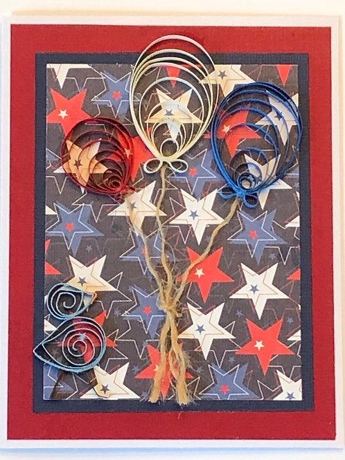 Bluebird Series – Patriotic Balloons