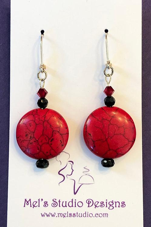 Handmade custom earrings