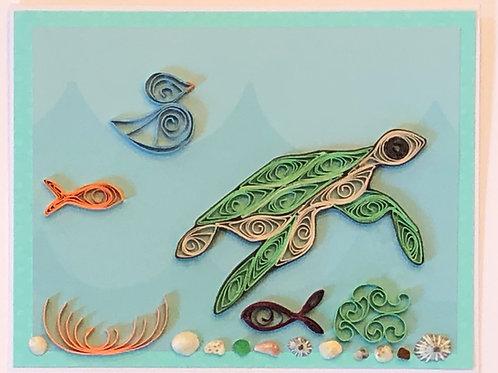 Blue Bird Series – Under The Sea - Turtle