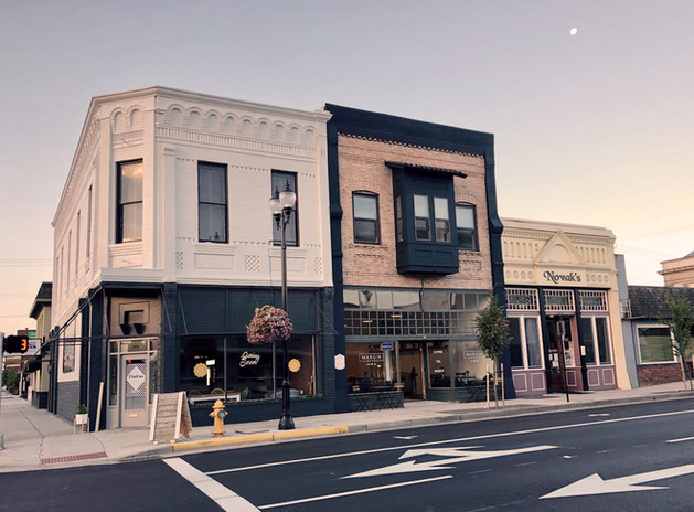 206 and a half historic hotel, Albany Oregon