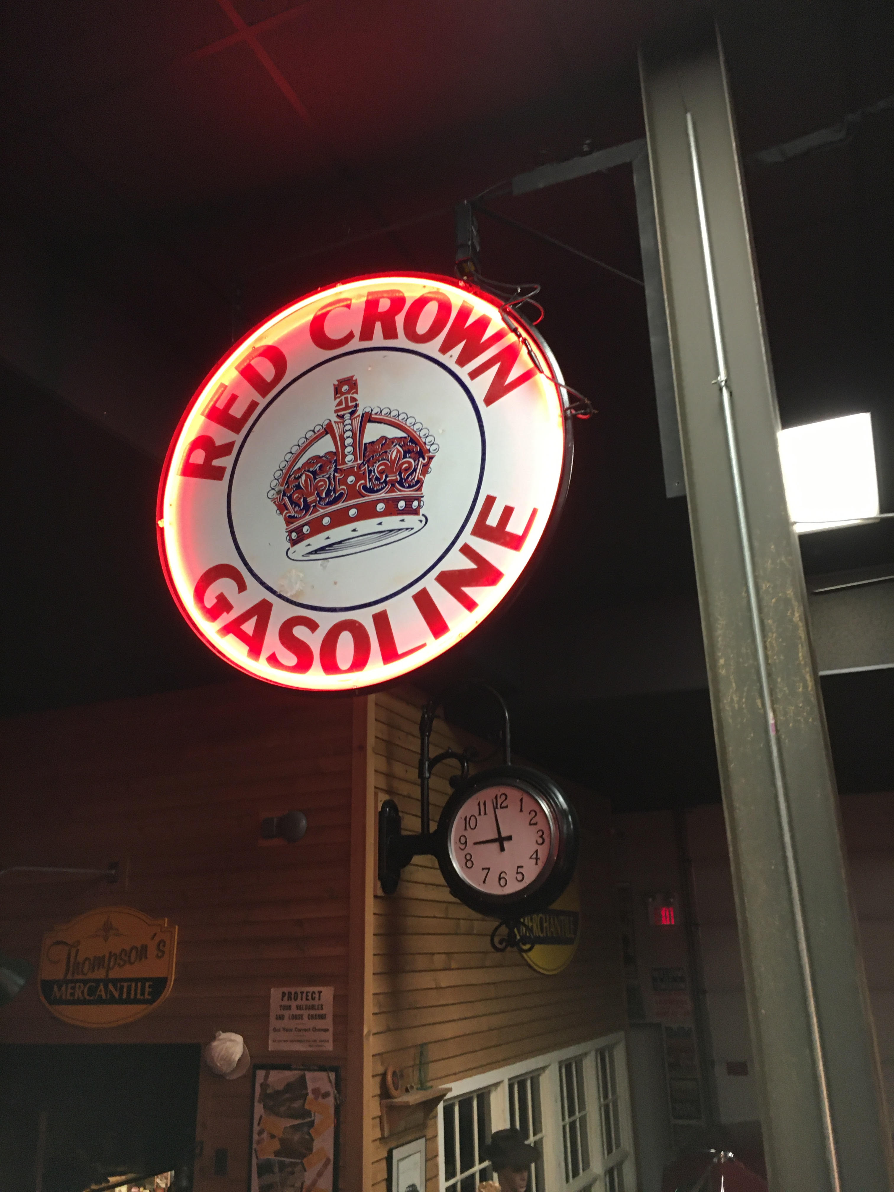 Red Crown Gas Station