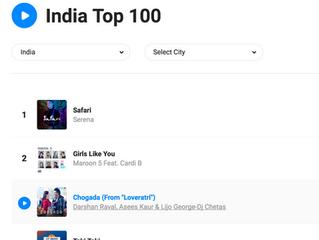 Safari #1 on shazam in India