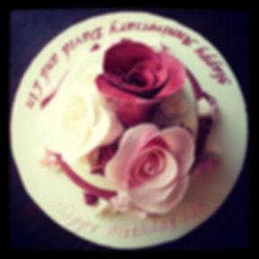 Birthday and Anniversary Cake