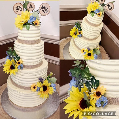 Sandra Wedding cake