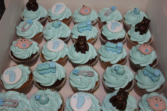 Deluxe baby Cupcakes