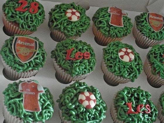 Football shirt Cupcakes