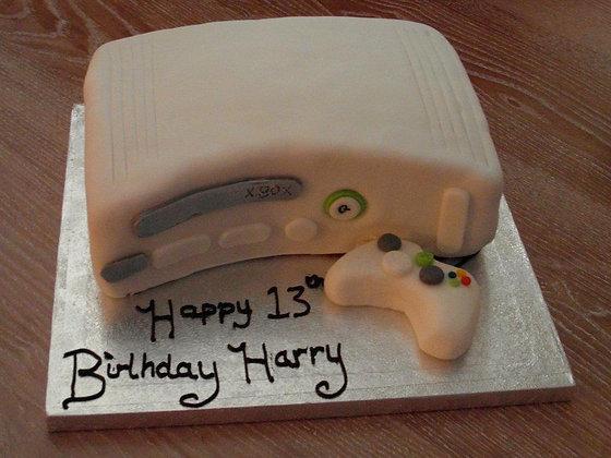 Xbox cake white