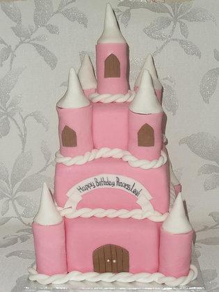 3 Tier Castle cake