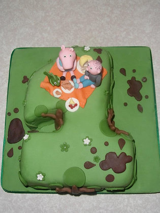 George's picnic cake