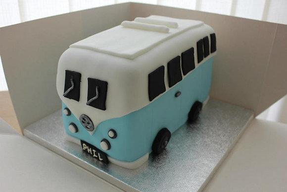VW Campervan cake