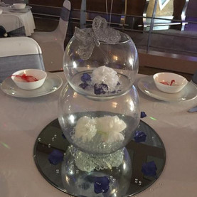 Stunning navy & silver wedding today! 😍