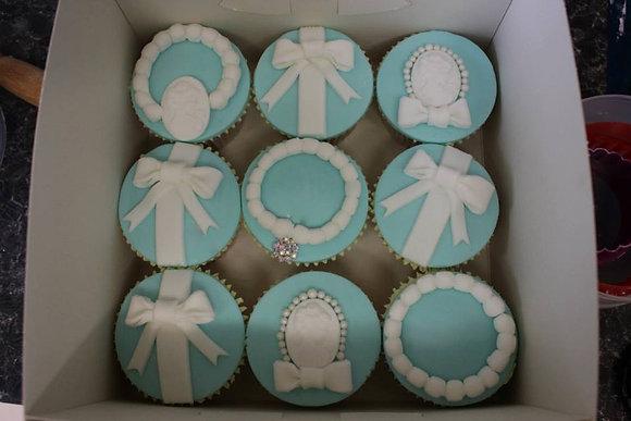 Deluxe Tiffany Cupcakes