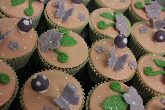 Enchanting Fairy Cupcakes