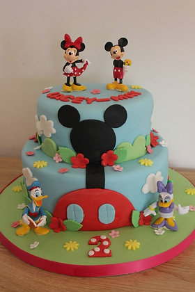 2 Tier Minnie & Mickey