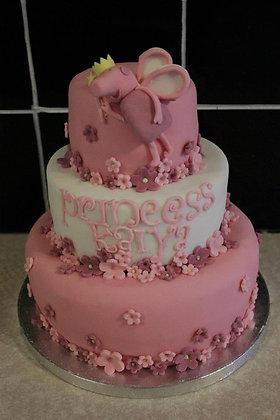 3 Tier Princess peppa cake