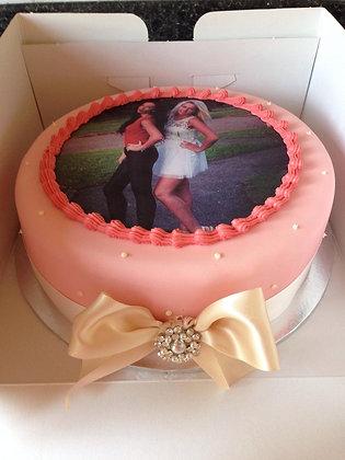 Girly Image cake