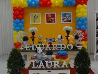 Aniversário Eduardo e Laura