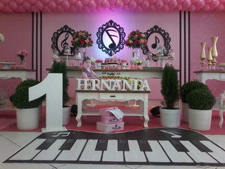 Aniversário 1 ano Fernanda