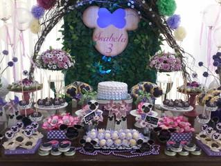 Aniversário 3 anos Isabela