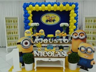 Aniversário Augusto e Nicolas